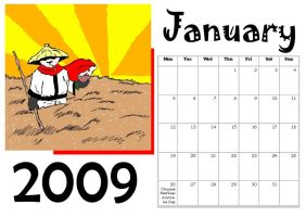 MT Calender: January by Manga-Tutorials