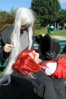 Grell x Undertaker: Hat Thief by PoeticPerson