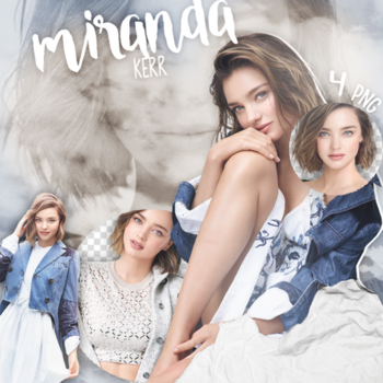 #PACK PNG# Miranda Kerr. by MarEditions1