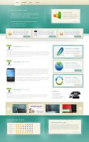 fresh clean website by eVenement