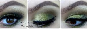 Green Ardell Lashes by KatelynnRose