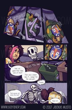 Kay and P: Issue 21, Page 13 by Jackie-M-Illustrator