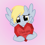 Derpy loves you by GAlekz