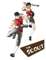 TF2 Scout by JujuFei