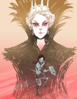 Snow White and the Huntsman by spicysteweddemon