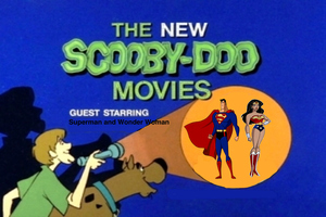 Scooby Doo meets Superman and Wonder Woman by darthraner83