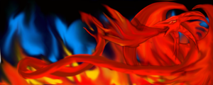 Raging Flames by Frygia