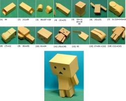 Instruction for making Danbo by lightlanaskywalker