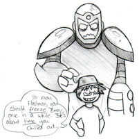 Flashman does not like puns by Chloemew4ever