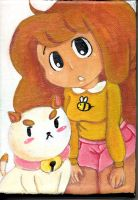 Bee and Puppycat Canvas :gift: by Blue-Chica