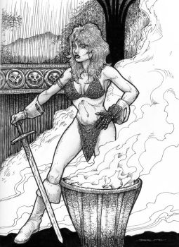 Red Sonja and the Gauntlet of Erlik by Sgrum