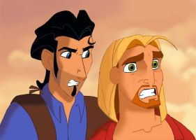 Miguel and Tulio v2 by Sarius2004