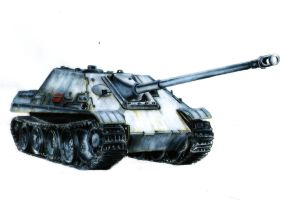 Jagdpanther - The beast is ready to devour by Cune