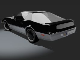 Knight Rider Trans Am - back 2 by wannabegeorge