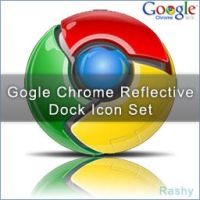Google Chrome Reflective Icon by deviant-Rashy