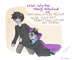 HS: Eridan the wwhiney pansy by Danuschka