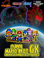 SMBGX Universe's Mightiest Heroes Poster by HeiseiGoji91