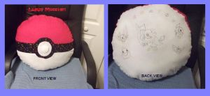 Chatot Pokeball Pillow - Fail by Franrie