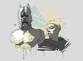 Die Antwoord piece by playkill
