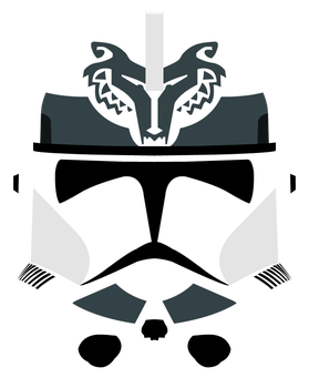 Wolfpack Phase II Clone Helmet by PD-Black-Dragon