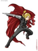 Edward Elric by Geofffffff by Maganius