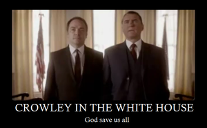 Crowley for President by Heercums-N-Oxymoron