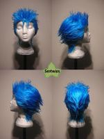 Wig Commission - Grimmjow by kyos-girl