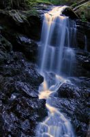 Unnamed Falls 2 by dsiegel