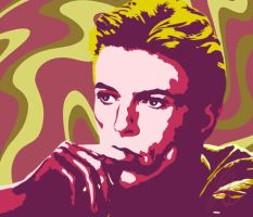 David Bowie by esyre