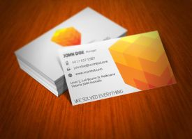 Cubic Business Card 04 by KaixerGroup