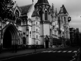 The Royal Court Of Justice by James-Aylott