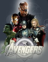 the avengers by fungila