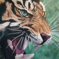 TIGER 2 by glenn cummings by CUMMINGSart