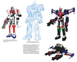 SPD mobile suit set by Chen-Chan