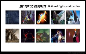 Favorite Fictional Fights by Jdailey1991