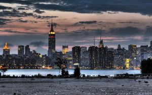 Skyline Empire State Building by stir