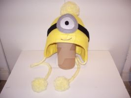 Despicable Me Minion Hat 2 by oXxPuccaxXo