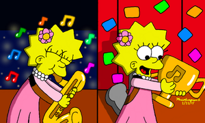Lisa's Jazz Award by MarioSimpson1