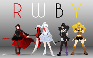 RWBY by yorikitsune