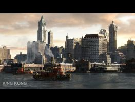 King Kong - Buildings by 3DnuTTa