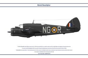 Beaufighter GB 604 Sqn 1 by WS-Clave