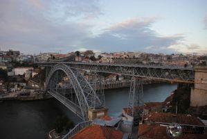 Bridge D. Luis - Porto by csilva0