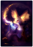 Delphox by Yamio