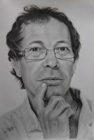 Portrait drawing! What do u think? by Sara-Anjos