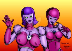Sue and Dominator by Mercury01 by THE-Darcsyde