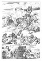 Jonah Hex pg2 pencils by deankotz