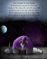 Joey and the Moonster by l0stinth0ught
