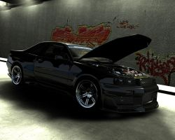 Nissan Skyline R34 GT-R by me-myself