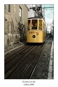 Lisbon Funicular by Neo3004