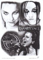 Amy Lee Evanescence by tizwoz5